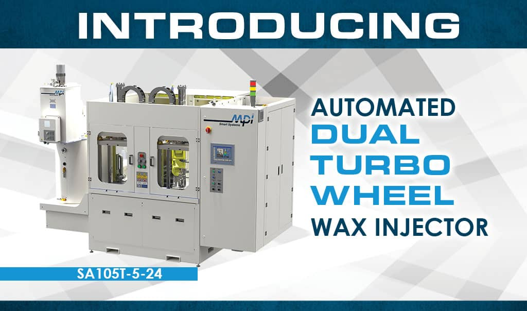 Mpi Introduces New Automated Dual Turbo Wheel Wax Injector